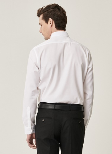 Beymen Business 4B2000000005 Slim Fit Gömlek Non-Iron Beyaz